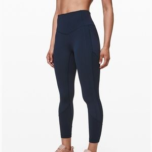 """LULULEMON """"ALL THE RIGHT PLACES CROP II 23"""""""